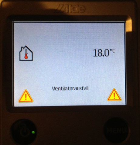 Alde 3010 Ventilatorstörung